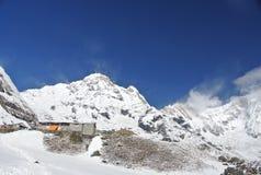 лагерь Непал annapurna низкопробный Стоковое фото RF