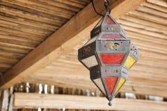 Лагерь Оман пустыни лампы Стоковые Фотографии RF