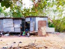 Лагерь работника Стоковое фото RF