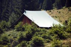 Лагерь разведчика Стоковые Фотографии RF
