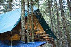 Лагерь разведчика Стоковое Изображение RF