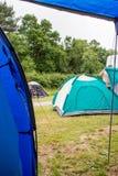 Лагерь шатра Стоковое Фото