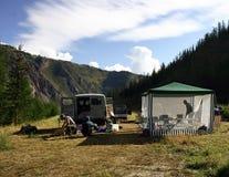 лагерь стоковое фото rf