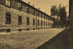 лагерь birkenau auschwitz Стоковая Фотография RF