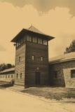 лагерь birkenau auschwitz Стоковые Изображения RF