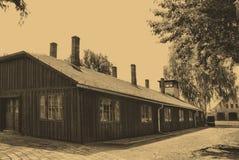 лагерь birkenau auschwitz Стоковое Изображение RF