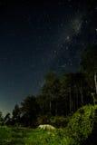Лагерь Milkyway Mawar Стоковое Изображение RF
