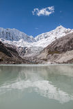 Лагуна Анды Huaraz Перу Llaca Стоковые Изображения RF
