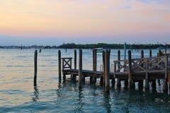 Лагуна Венеции, Италии Стоковое Изображение RF
