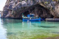 Лагуна сини Мальты Стоковое Изображение