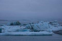 Лагуна льда Стоковое Фото