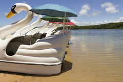 Лагуна Arituba - расположенная рядом с пляжем Tabatinga и превосходный вариант для плавать в более спокойных водах стоковые изображения