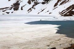Лагуна De los Tres, El Chalten, Аргентина Стоковые Изображения RF