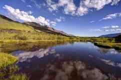 Лагуна Glenorchy, Новая Зеландия Стоковое фото RF