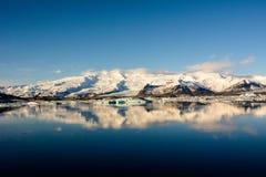 Лагуна n ³ rlà ¡ Jökulsà ледниковая Стоковые Фото