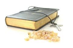 ладан библии перекрестный Стоковые Фото