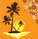 ладони острова бесплатная иллюстрация