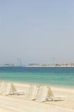 ладонь гостиницы пляжа Атлантиды Стоковая Фотография RF