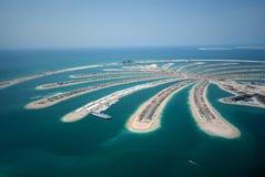 ладонь jumeirah острова Стоковые Изображения RF