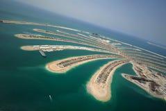 ладонь jumeirah развития Стоковое Изображение