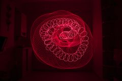 Лазерный луч светлая картина стоковое изображение
