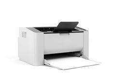 Лазерный принтер изолированный на белой предпосылке Стоковое Изображение