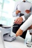 Лазерный принтер офиса Стоковое Изображение RF