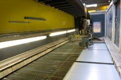 лазер вырезывания Стоковое Фото