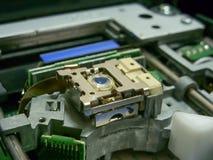 Лазер в приводе DVD стоковое изображение