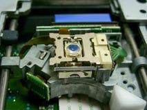 Лазер в приводе DVD стоковые фотографии rf