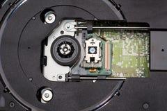 лазер головки cd привода стоковая фотография