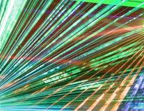 лазер толпы стоковые фотографии rf