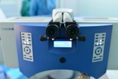 лазер хирургии глаза стоковая фотография