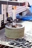 Лазер для индустрии стоковое фото