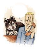 лайка собаки домашняя бесплатная иллюстрация