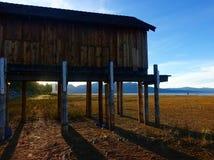Лаке Таюое в засухе стоковое изображение rf