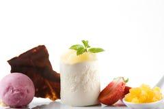 лакомка десерта стоковое фото rf