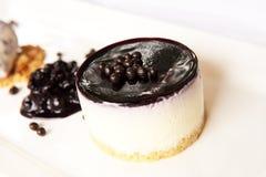 лакомка десерта cheesecake Стоковые Фотографии RF