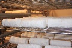 лакомка замораживателя сыров внутри овец Стоковые Изображения