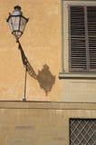 Лампа, дворец Pitti, Флоренс Стоковое фото RF