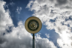 Лампа встречает небо Стоковое Изображение RF