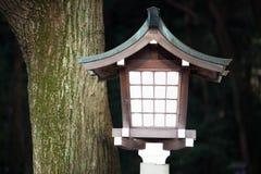 Лампа в виске, Японии Стоковые Изображения RF