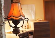 Лампа в кухне Стоковое Фото