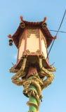 Лампа в Сан-Франциско Чайна-тауне Стоковые Изображения RF
