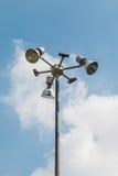 Лампа в саде Стоковые Изображения