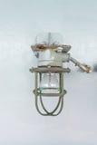 Лампа в стали Стоковое Фото