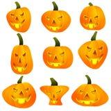Лампа Джека тыквы хеллоуина бесплатная иллюстрация