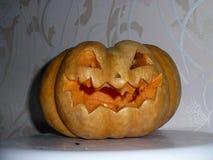 Лампа Джек на праздник хеллоуина стоковое изображение