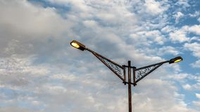 Лампа дороги стоковое фото rf