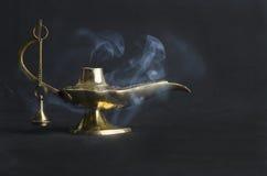 Лампа золота востока Стоковые Фото